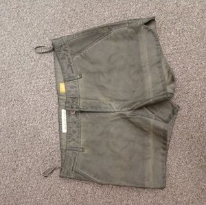 Anthropologie Pleather Shorts NWOT